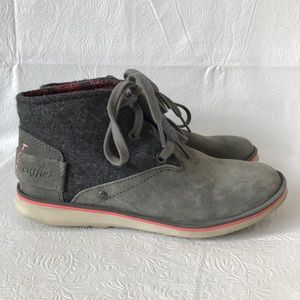 Cushe Manuka Lite Desert Charcoal Gray Shoes